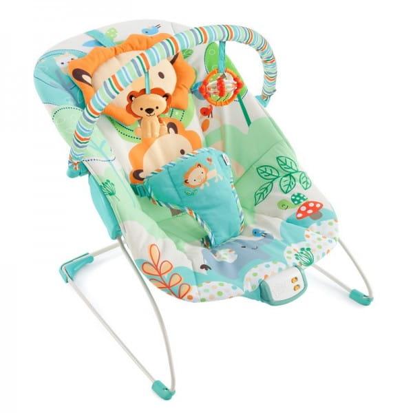 Купить Кресло-качалка Bright Starts Прогулка по саванне в интернет магазине игрушек и детских товаров