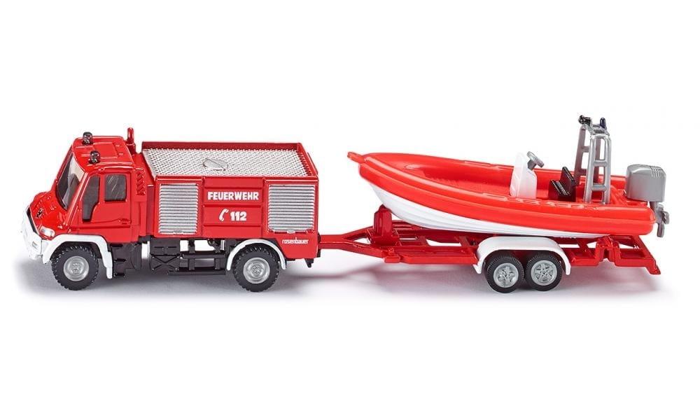 Набор SIKU Пожарная машина с катером