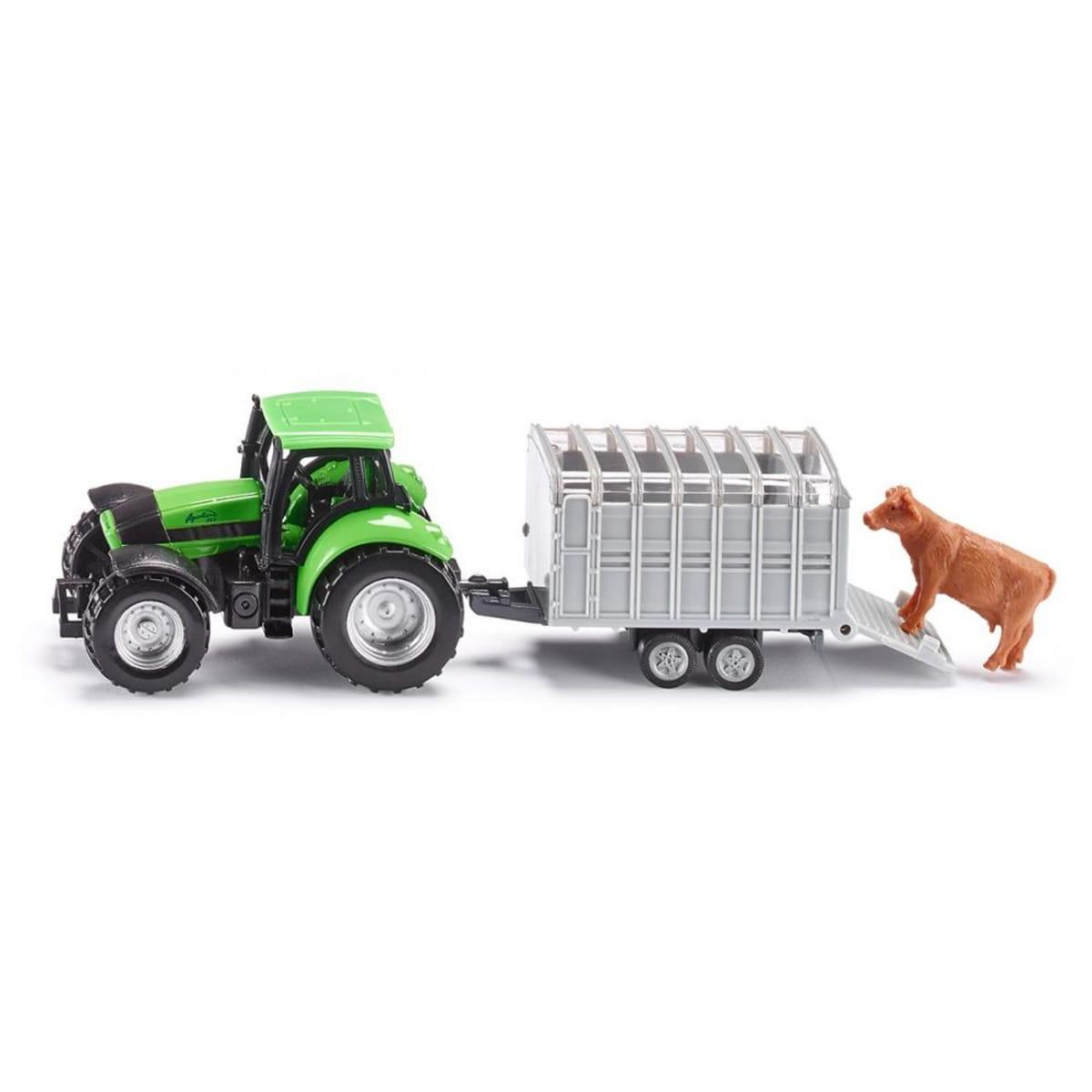 Трактор SIKU с прицепом для скота