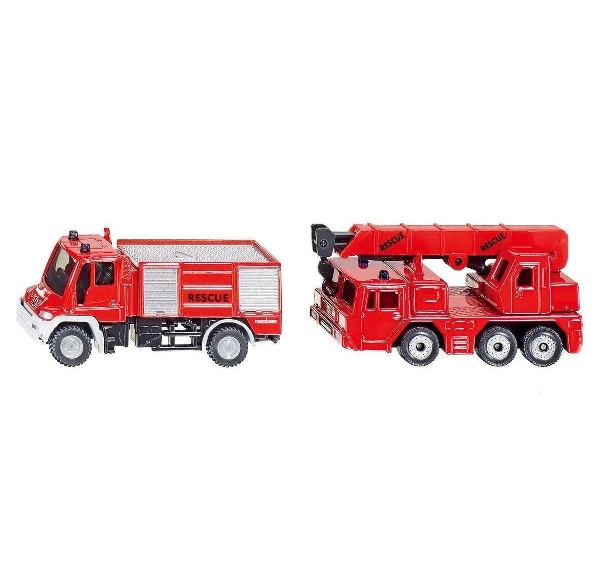 Набор пожарных машин Siku