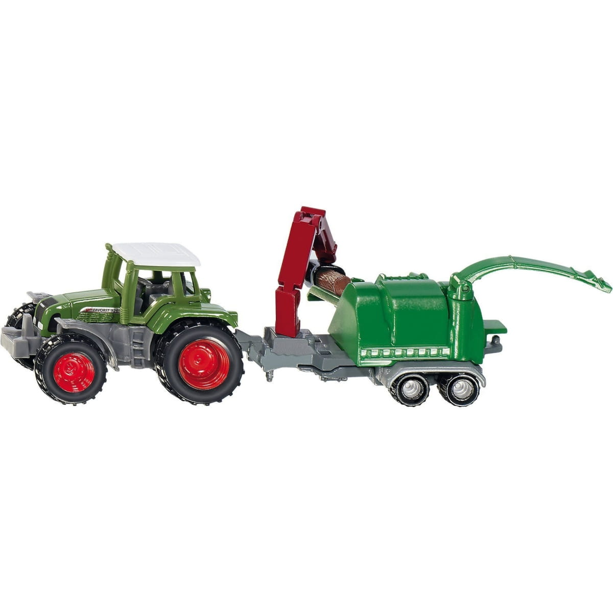 Трактор Siku с щеподробилкой