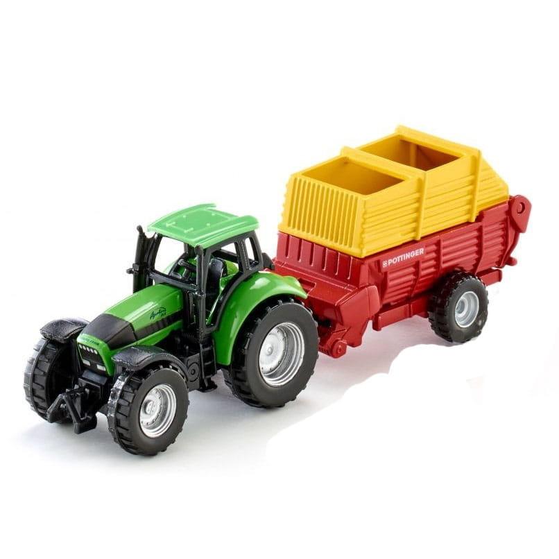 Трактор Siku с прицепом Poettinger