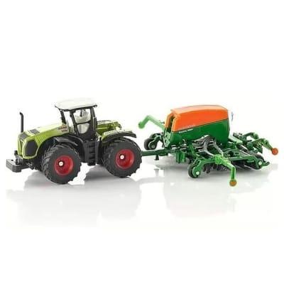 Набор Siku Трактор с сеялкой 1:87