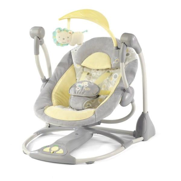 Купить Качели Bright Starts InGenuity Умные и бесшумные в интернет магазине игрушек и детских товаров