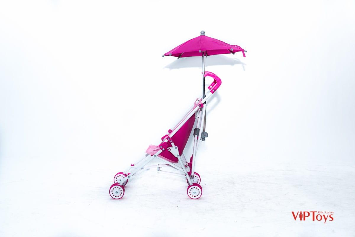 Коляска-трость для кукол VIP TOYS с зонтиком
