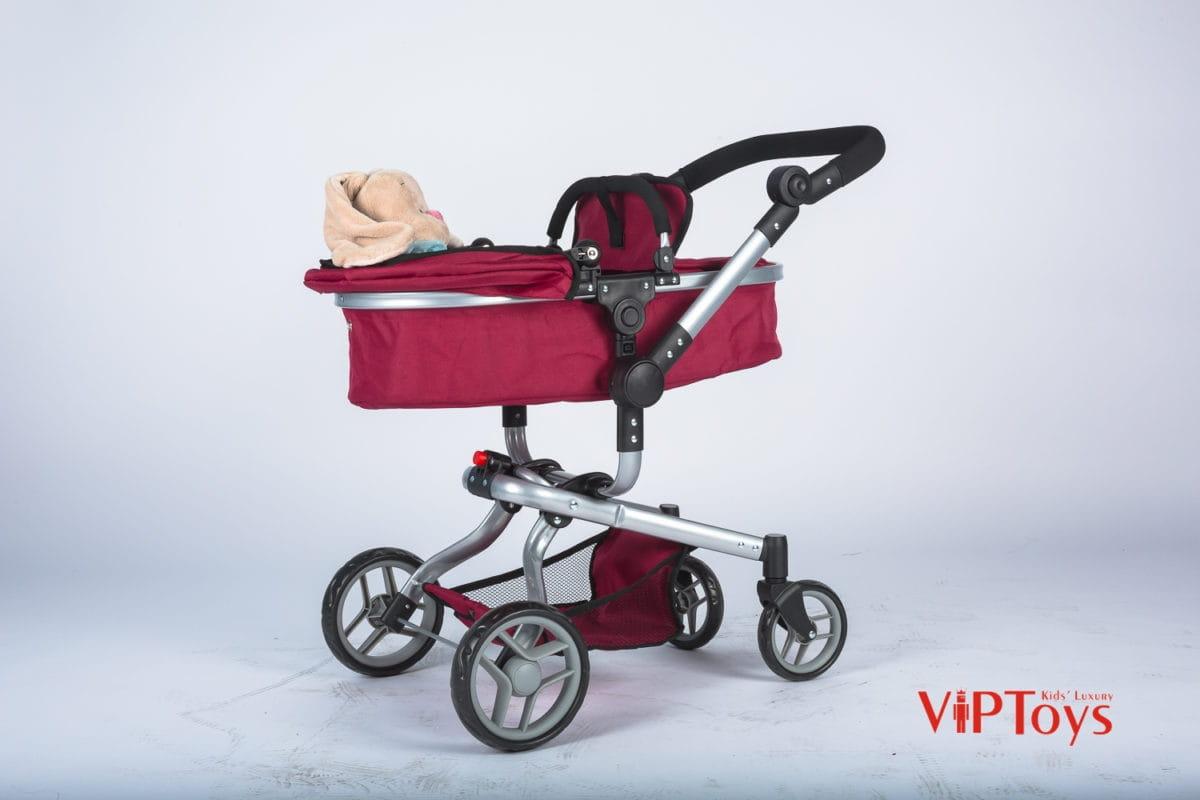 Коляска-трансформер для кукол VIP Toys 9695 с вращающимися колесами