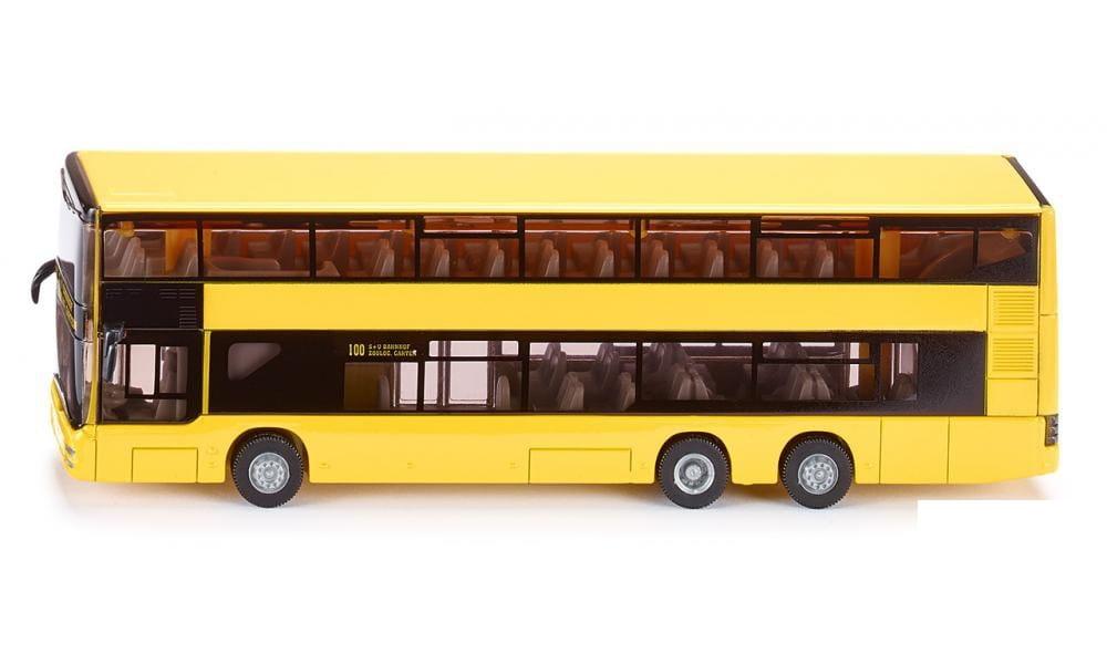 Городской двухэтажный автобус SIKU Man