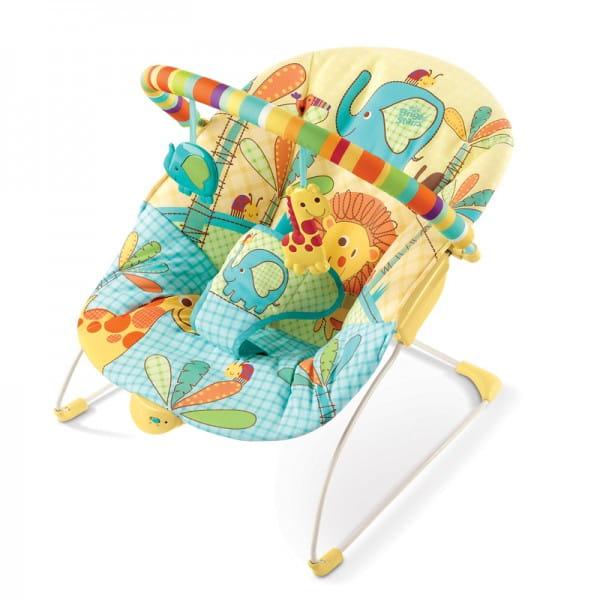 Купить Кресло-качалка Bright Starts Солнечное сафари в интернет магазине игрушек и детских товаров