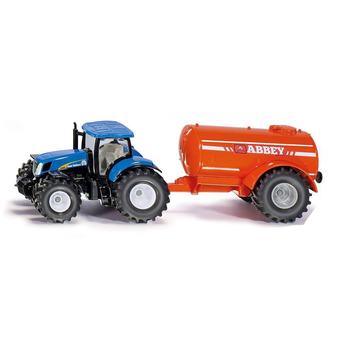 Трактор SIKU с прицепом-цистерной