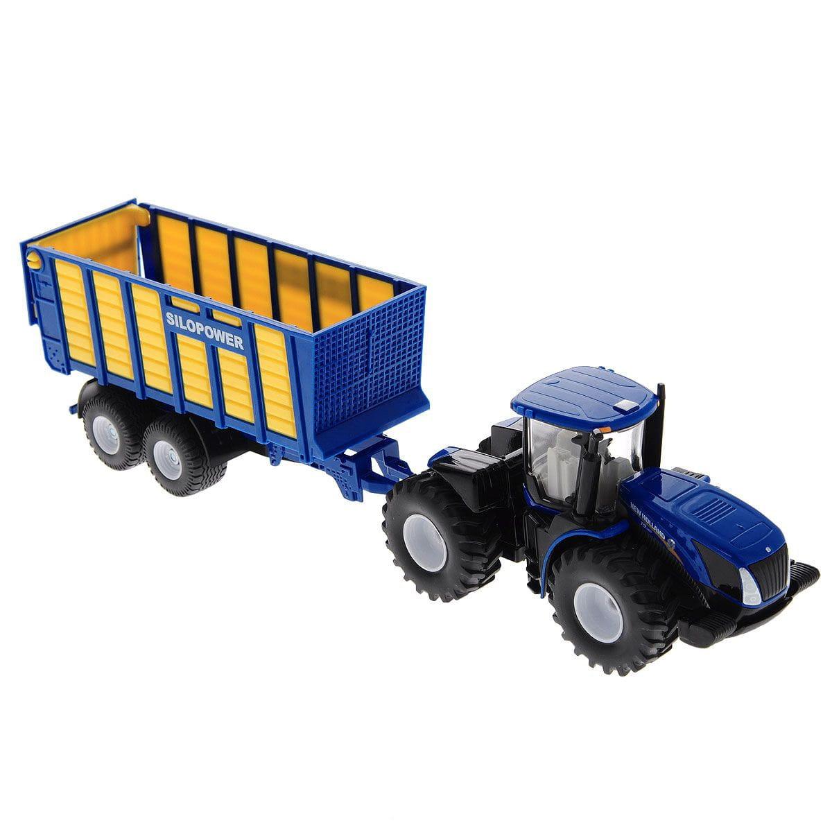 Трактор SIKU с прицепом