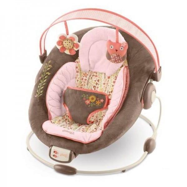 Купить Кресло-качалка Bright Starts Комфорт и гармония Цветение корицы в интернет магазине игрушек и детских товаров