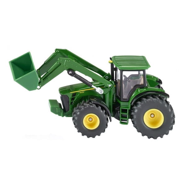 Трактор SIKU с фронтальным погрузчиком 1:50