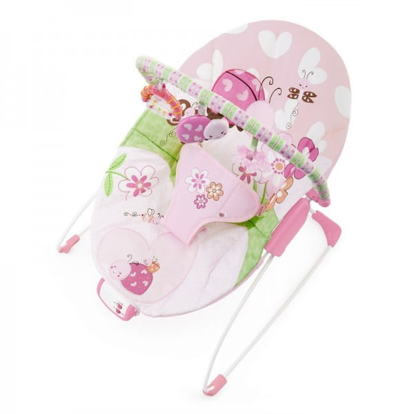 Купить Кресло-качалка Bright Starts Цветущий луг в интернет магазине игрушек и детских товаров