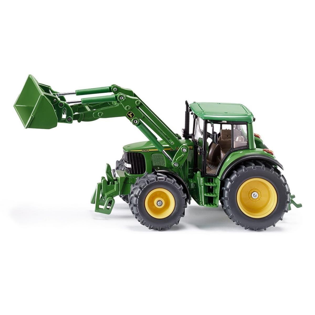 Трактор Siku 3652 John Deere с ковшом - зеленый