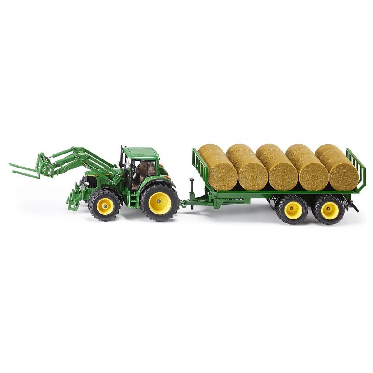 Набор Siku 3862 Трактор с прицепом для круглых кип