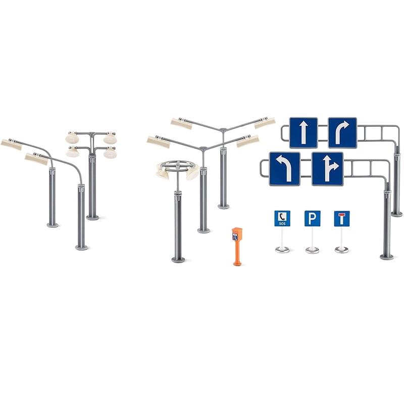 Игровой набор Siku World Фонари и знаки