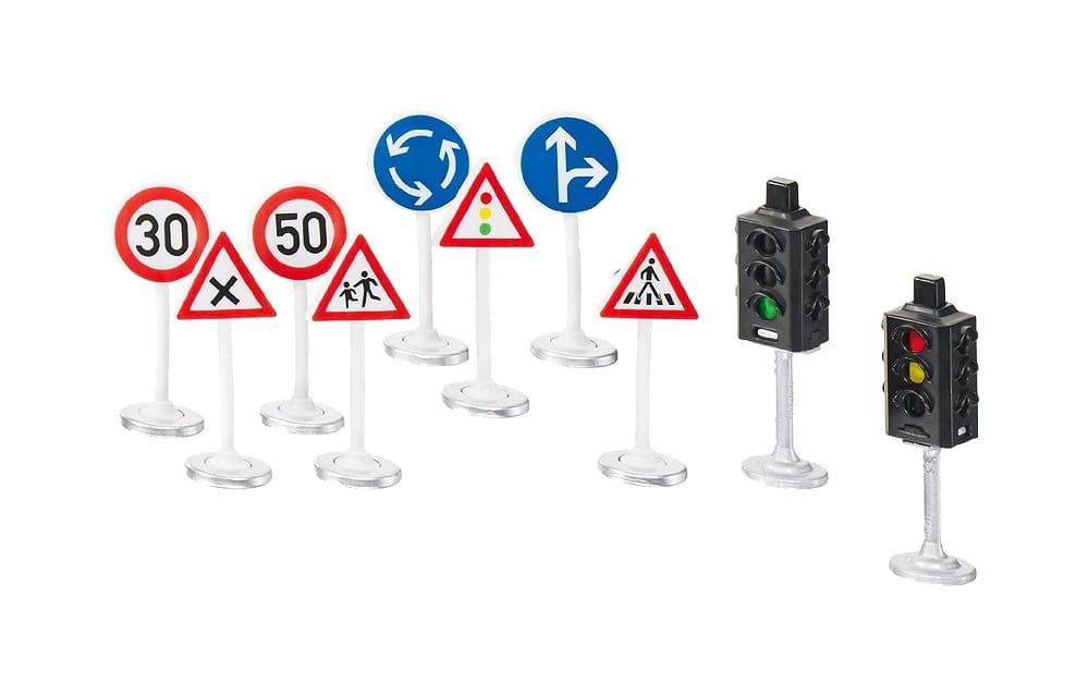 Игровой набор Siku World Светофоры и дорожные знаки