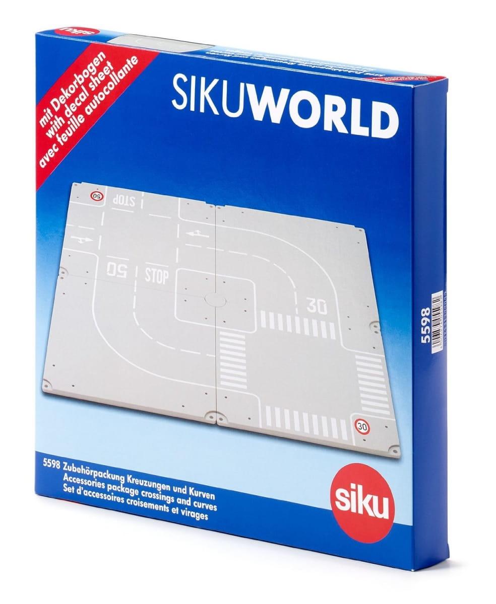 Набор деталей дорожного полотна Siku World
