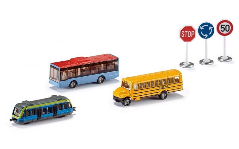 Игровой набор Siku Транспорт и дорожные знаки