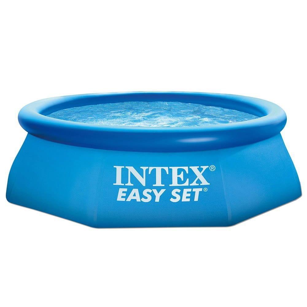 Надувной бассейн Intex 28112 Easy Set 244х76 см (с фильтр-насососом 1250 л/ч)