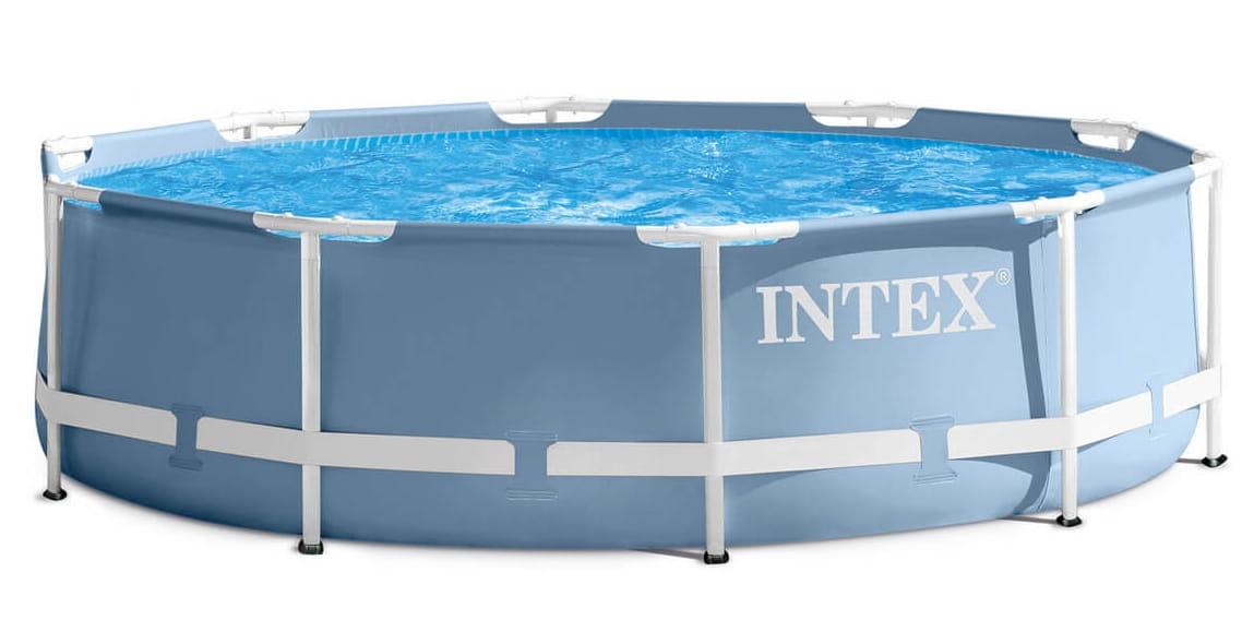 Каркасный бассейн Intex 28702 Prism Frame 305x76 см (с фильтр-насосом 1250 л/ч)