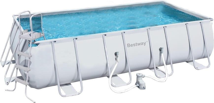 Каркасный бассейн Bestway 56456 BW 412х201х122 см (с фильтр-насосом 2006 л/ч)