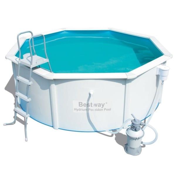 Стальной бассейн Bestway 56382 BW Hydrium Pool Set 460х120 см (с фильтр-насосом 3028 л/ч)