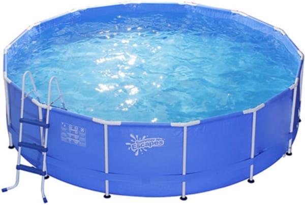 Каркасный бассейн POLYGROUP 305x106 см (с фильтр-насосом 3785 л/ч)