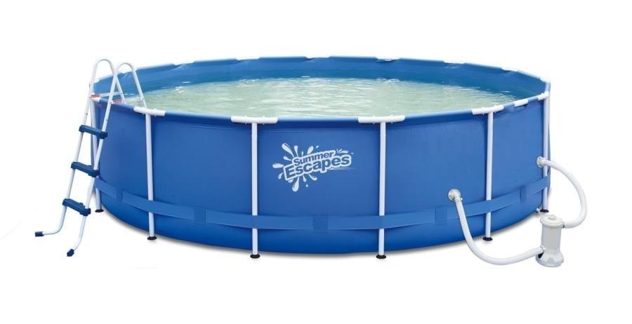 Каркасный бассейн Polygroup Р20-1248 366х122 см