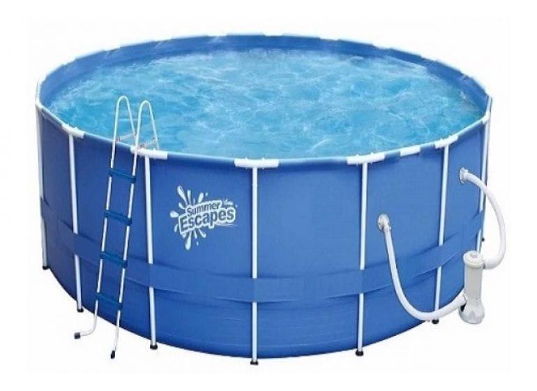 Каркасный бассейн Polygroup Р20-1248-B 366х122 см (с фильтр-насосом 3000 л/ч)