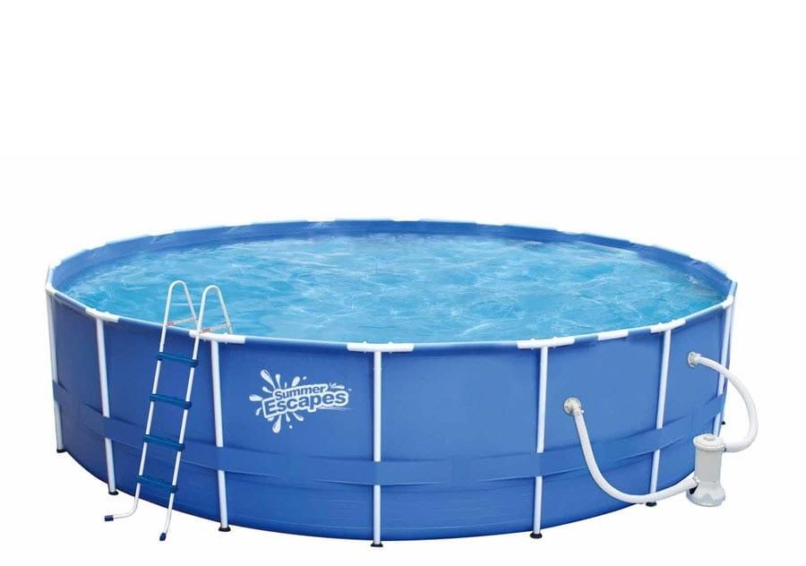 Каркасный бассейн POLYGROUP 549х122 см (с фильтр-насосом 5700 л/ч)
