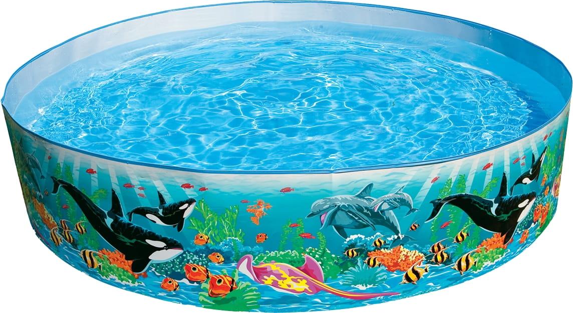 Детский бассейн Intex 58461 Океанский риф 183х38 см