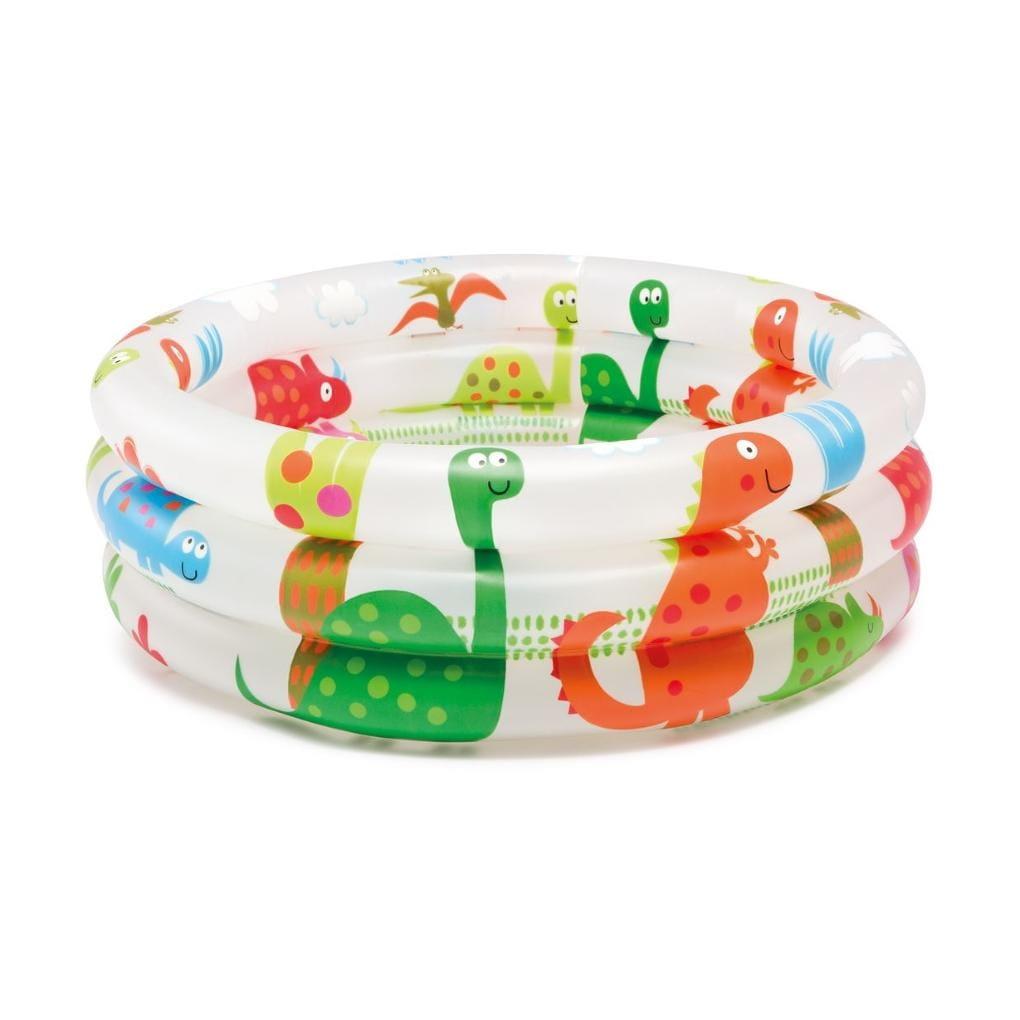 Детский бассейн Intex 57106 Динозавр 61х22 см