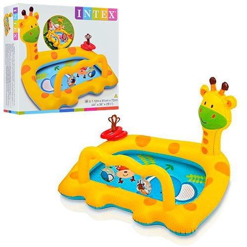 Детский бассейн Intex 57105 Жираф 112х91х72 см