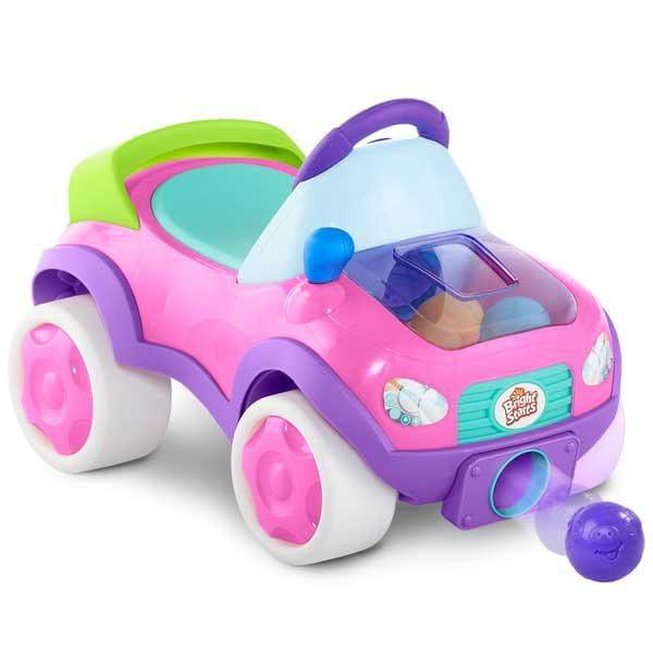 Купить Каталка Bright Starts Внедорожник (розовый) в интернет магазине игрушек и детских товаров