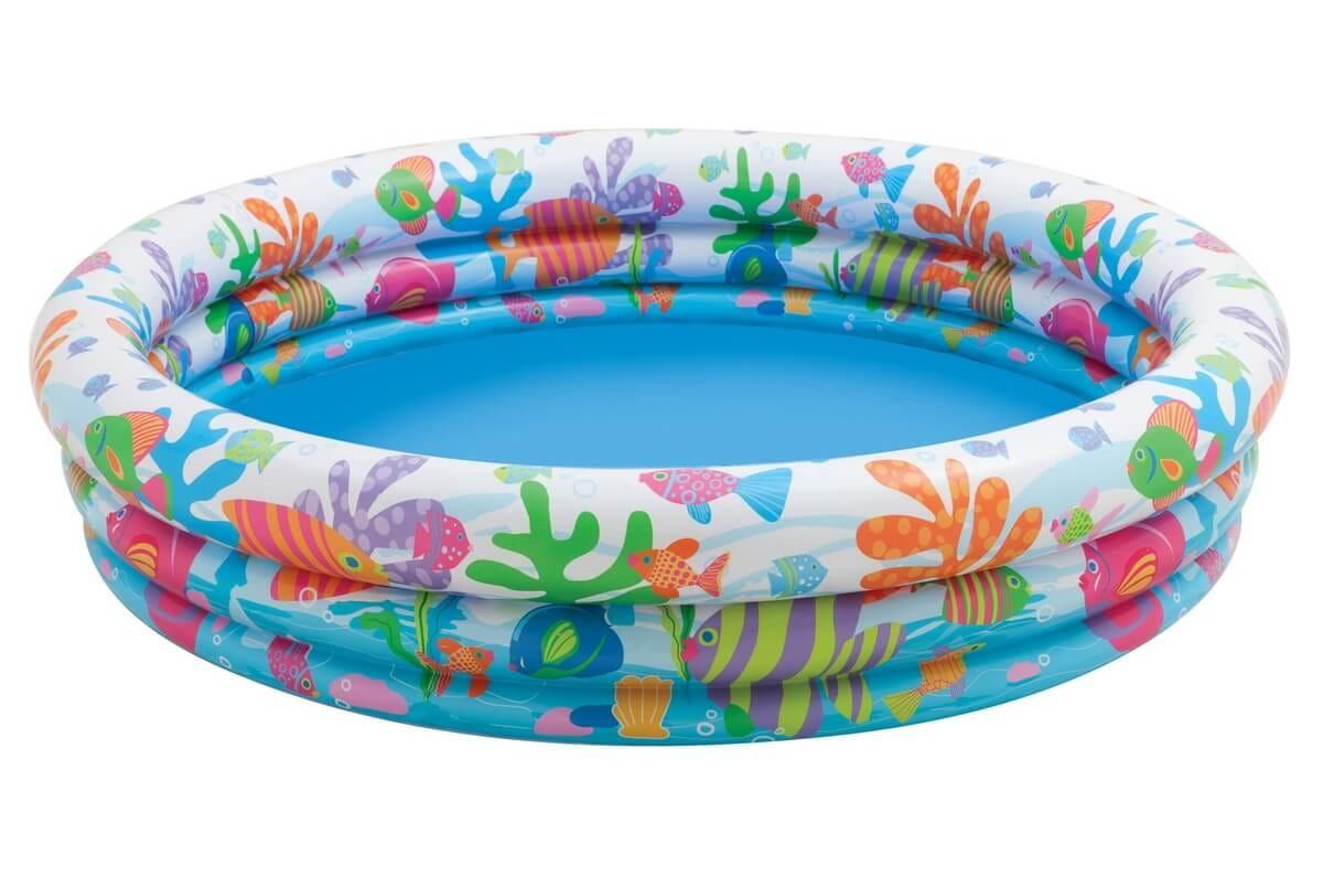 Детский бассейн Intex 59431 Рыбки 132х28 см