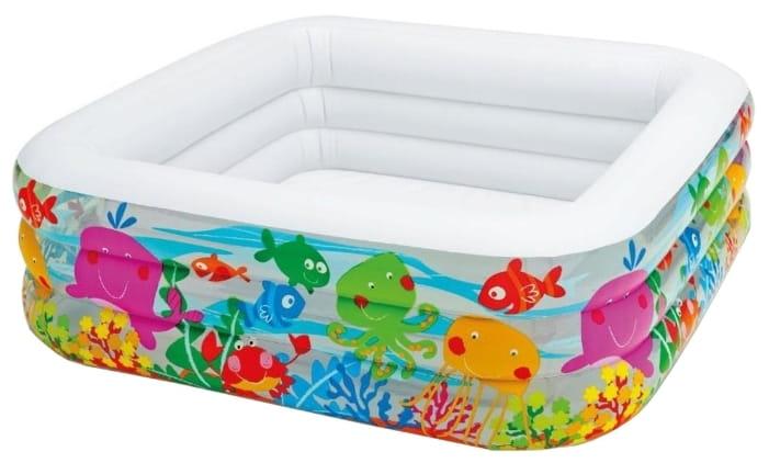 Детский бассейн Intex 57471 Аквариум 159х159х50 см