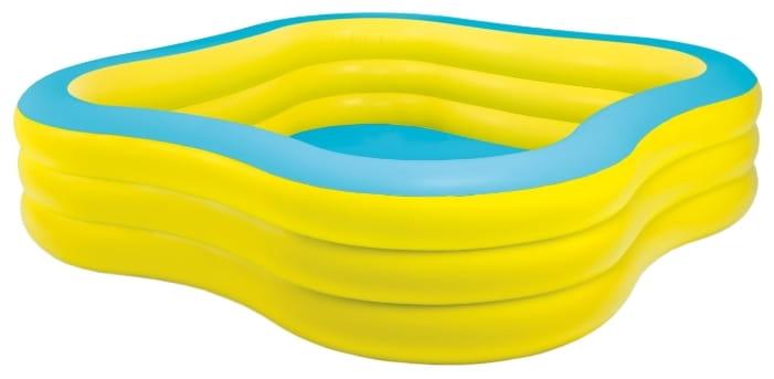 Детский бассейн Intex 57495 Волны 229х229х56 см