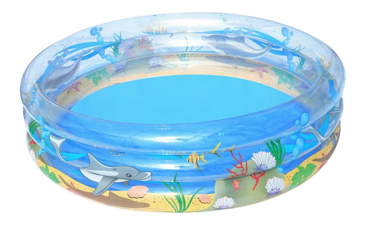 Детский бассейн Bestway 51046 BW Морская жизнь 201х53 см