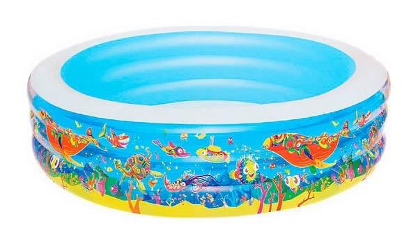 Детский бассейн Bestway 51123 BW Подводный мир 229х56 см