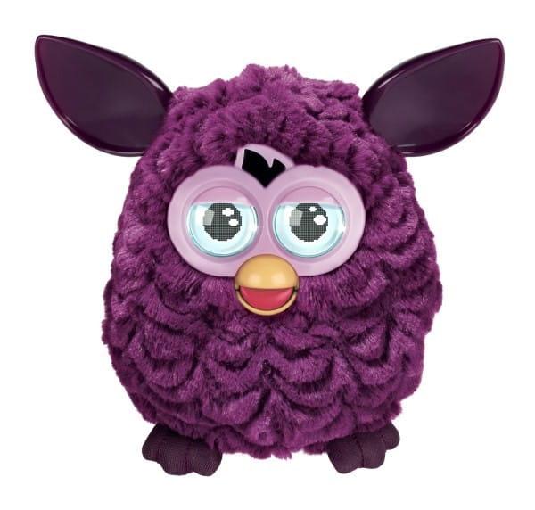 Купить Интерактивная игрушка Furby (Ферби) фиолетовая (Hasbro) в интернет магазине игрушек и детских товаров