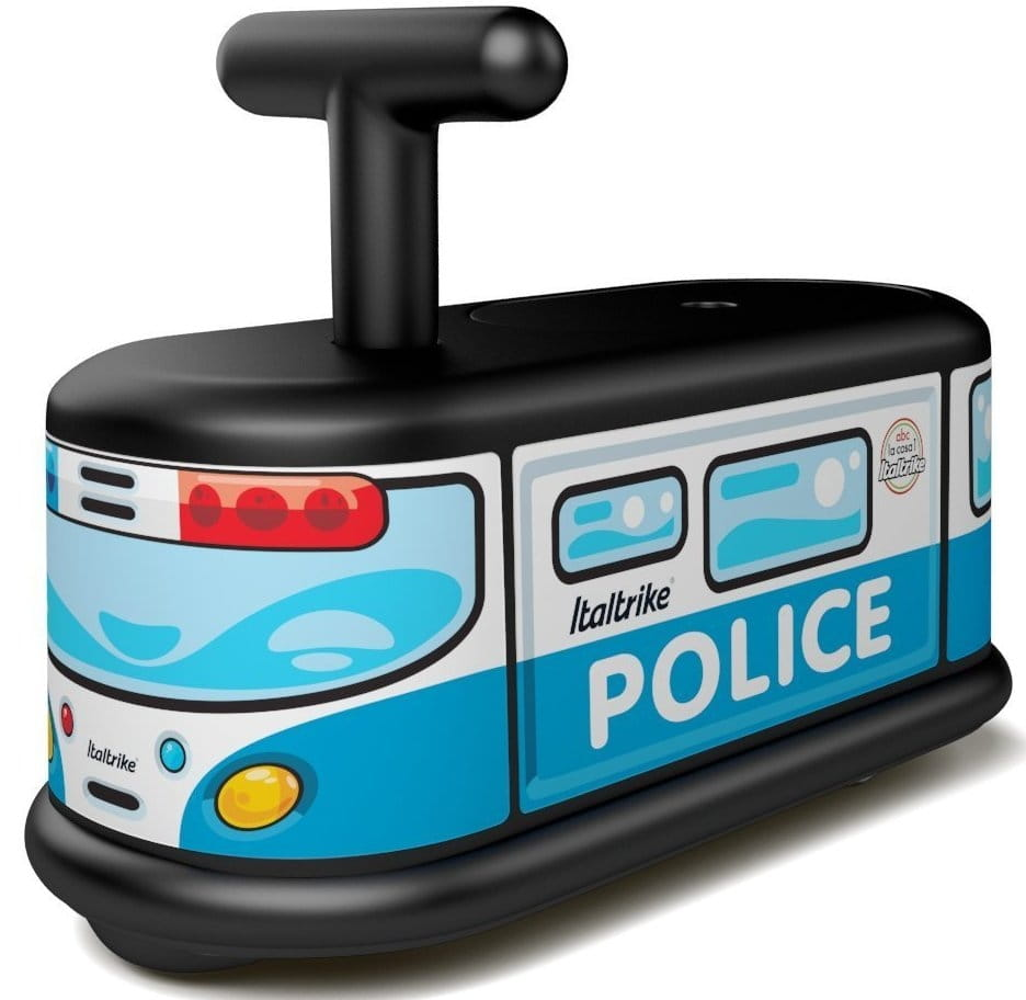 Каталка ITALTRIKE Полицейская машина