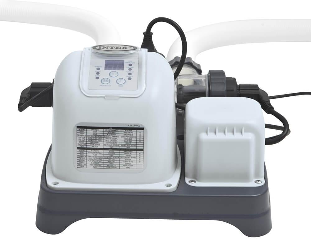 Хлоргенератор INTEX Krystal Clear для бассейна до 56800 л (система морской воды)