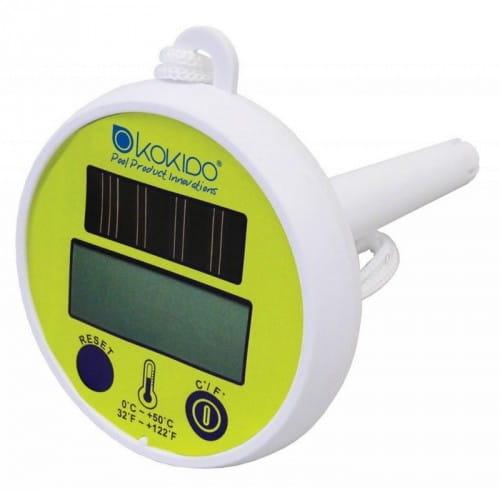 Цифровой термометр Kokido на солнечных батареях