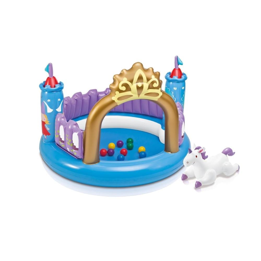 Игровой центр Intex 48669 Замок Принцессы 130х91 см