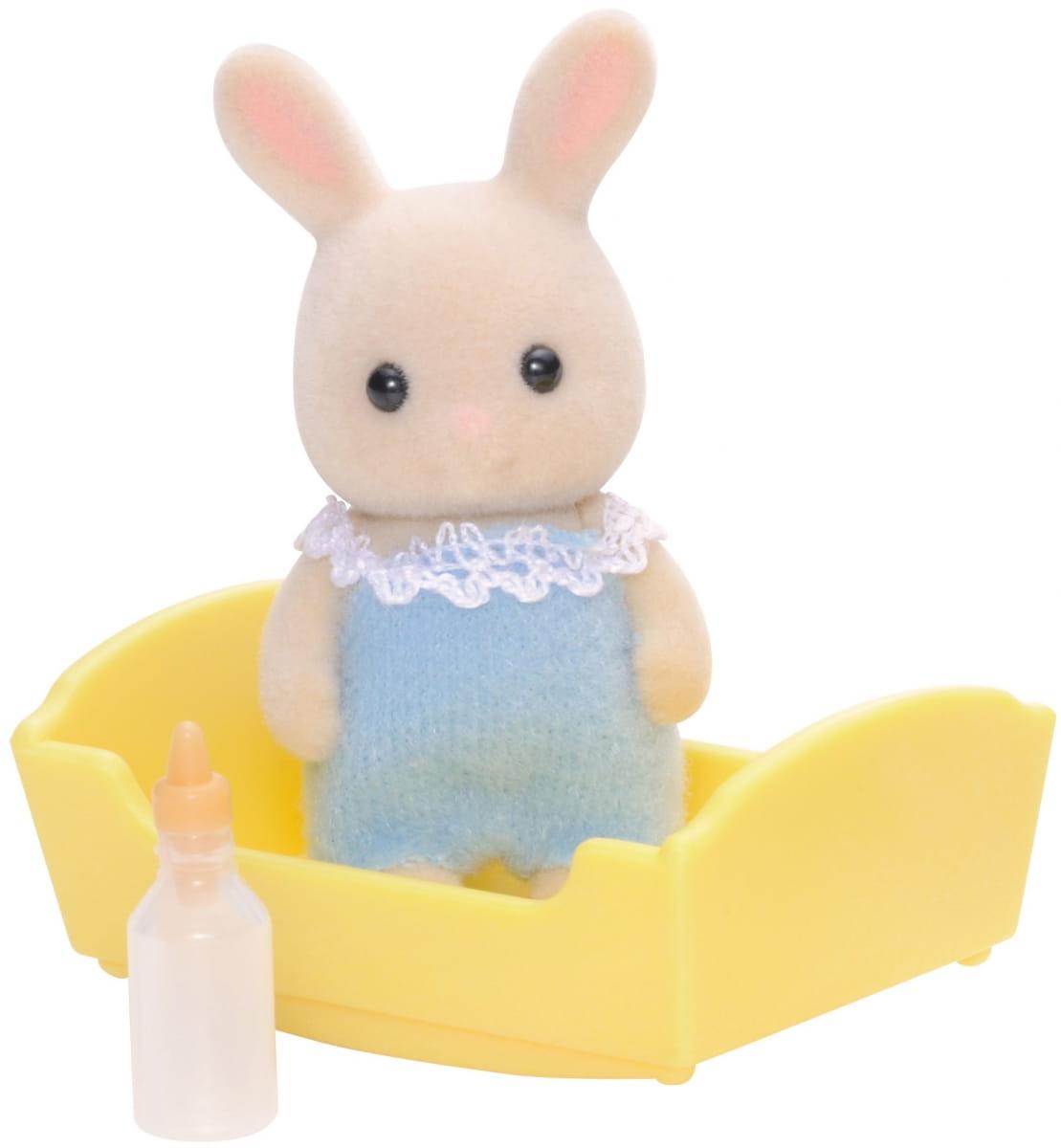 Игровой набор Sylvanian Families 3418 Малыш молочный кролик