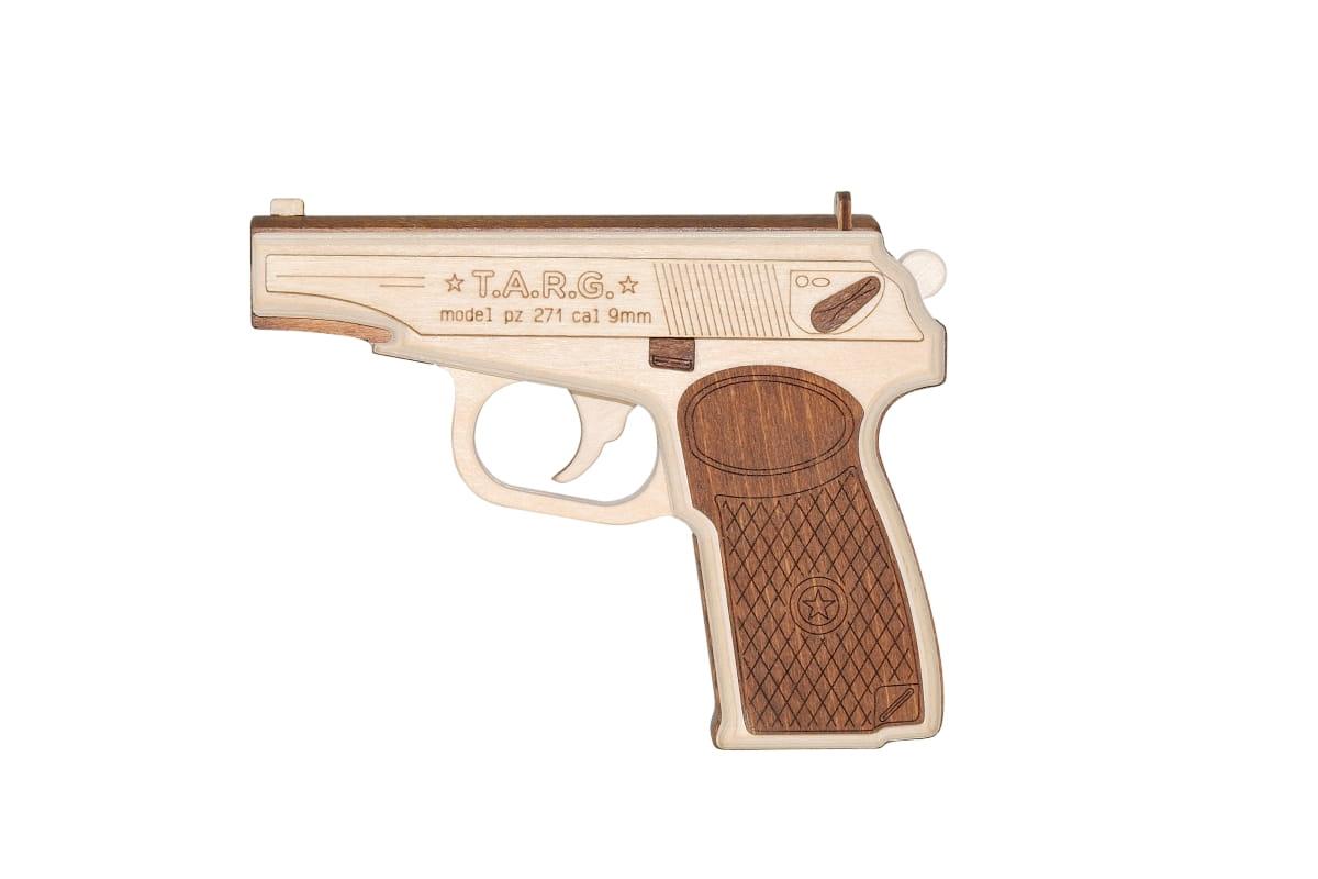 Сборная деревянная модель Targ 0077 PM-9mm