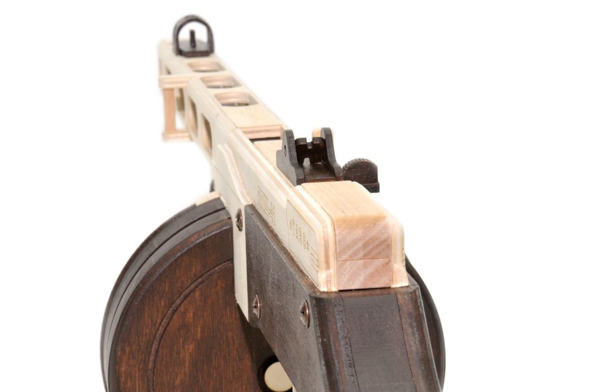Автомат ппш из дерева своими руками размеры