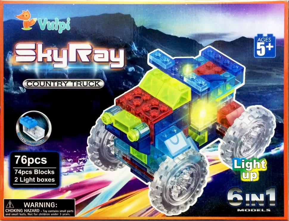 Светодиодный конструктор 6 в 1 Sky Ray Внедорожник