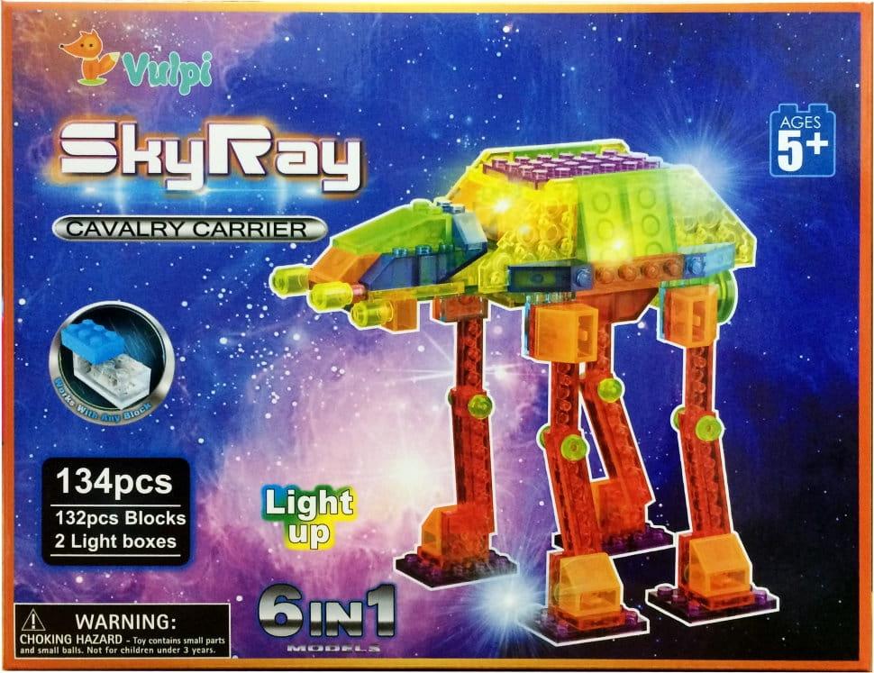 Светодиодный конструктор 6 в 1 Sky Ray Космические аппараты